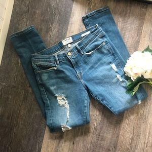 Frame | Le Garçon Skinny Jeans